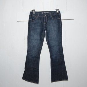 American eagle real flare womens jeans sz 8 L 8063